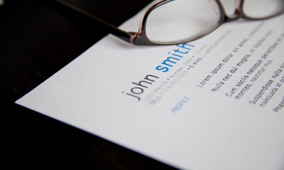 What Font Should You Use On Your Resume Not Times New Roman