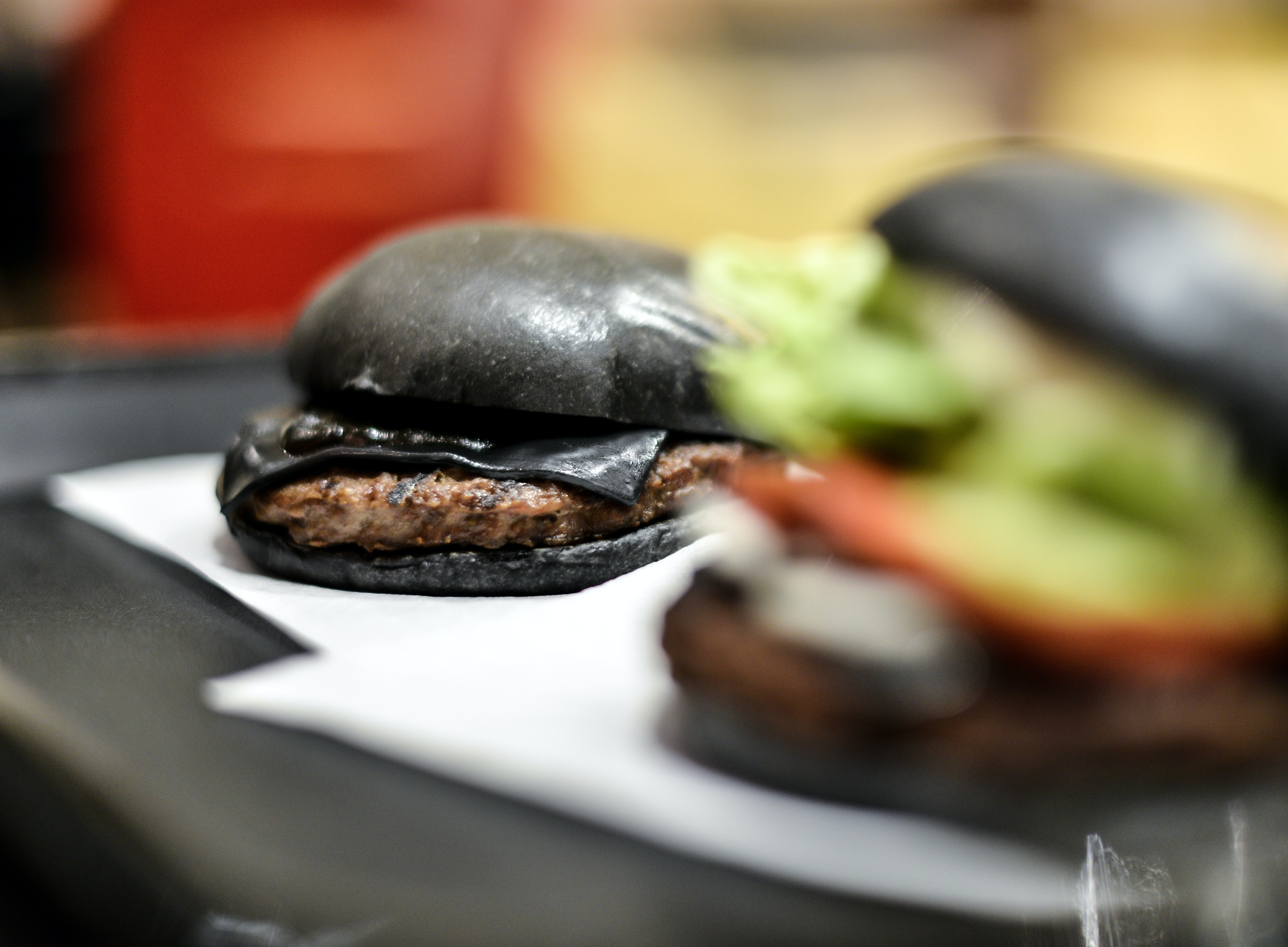 Halloween Hamburgers.Burger King S Black Burger Is Coming To America Just In Time
