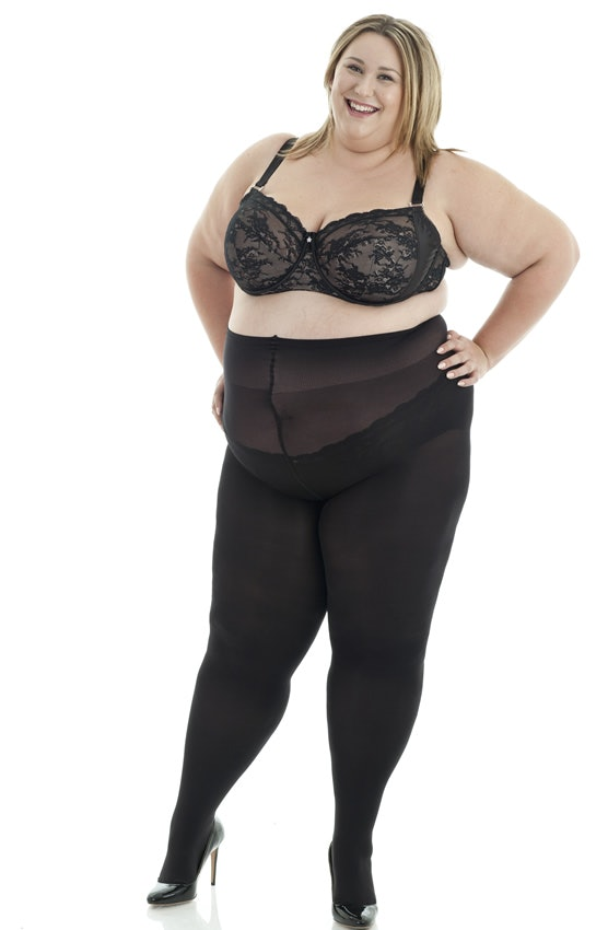 9 Places To Shop Black Plus Size Tights That Sometimes Even Go Up To