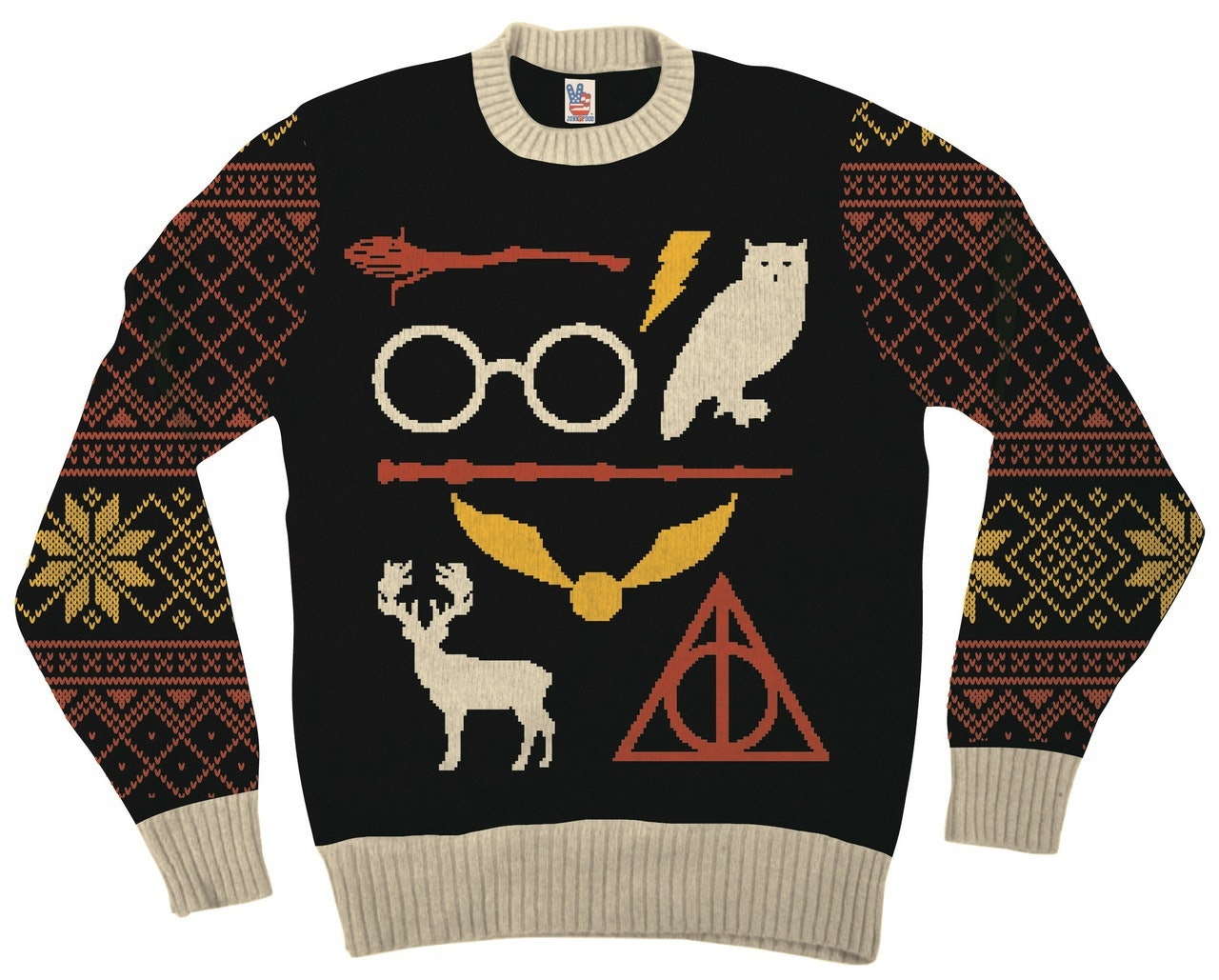 4ed94d7ae86b35 8 Harry Potter Ugly Christmas Sweaters For Your Inner Witch Or Wizard —  PHOTOS