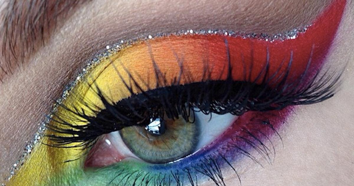 Rainbow Eye Makeup Looks From Instagram