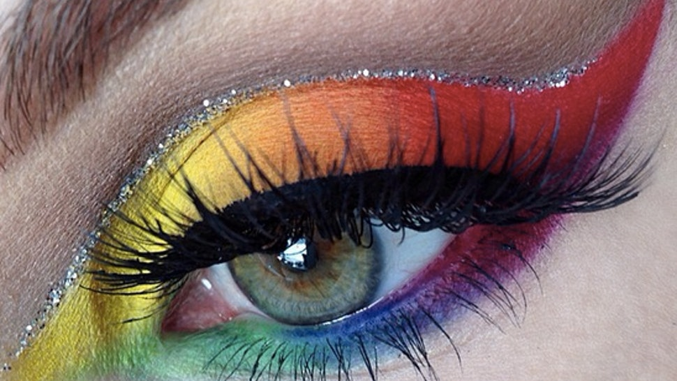 13 Rainbow Eye Makeup Looks From Instagram That Ll Make You