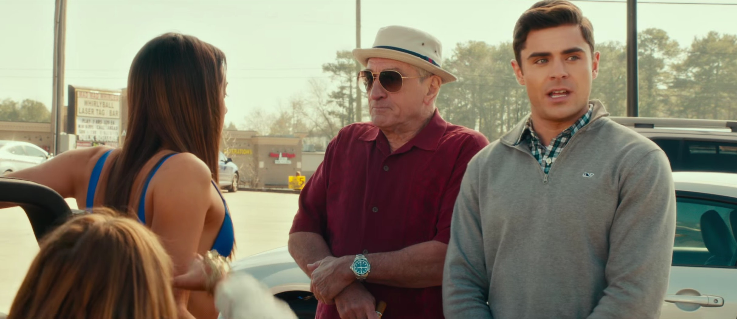 57db42b73b New  Dirty Grandpa  Trailer Gives Zac Efron s Facial Expressions Plenty Of  Time To Shine — VIDEO