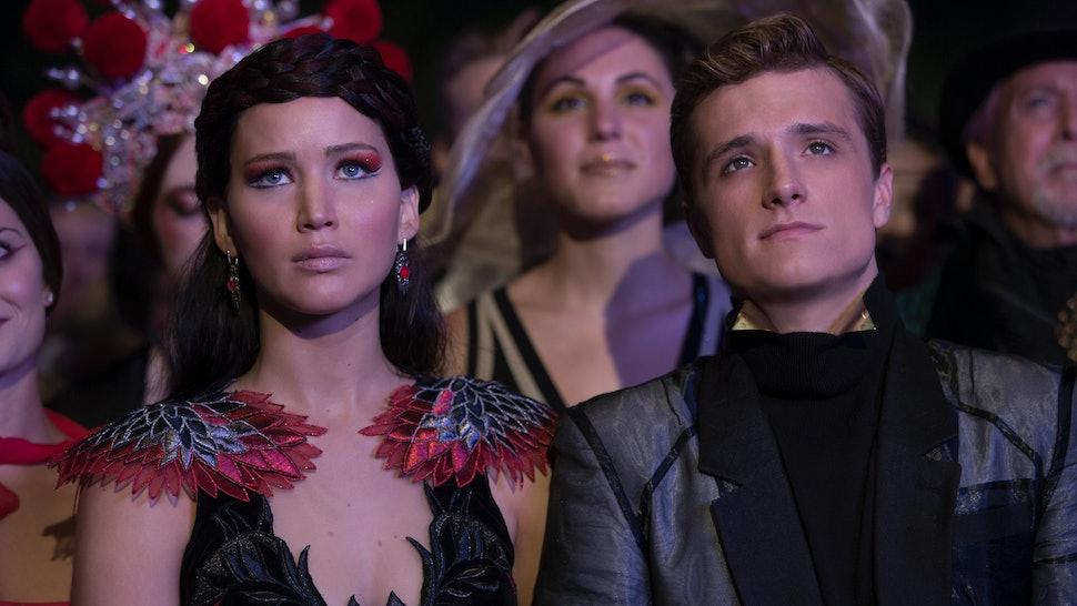 Katniss and peeta speed dating fanfiction