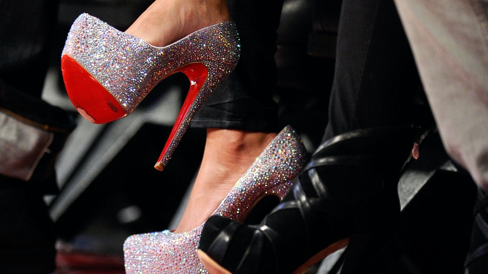 the best attitude 53f47 34213 DIY Christian Louboutin Daffodile Strass Heels For Only $40 ...