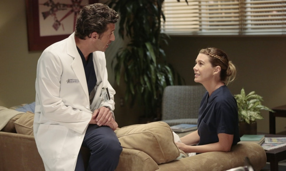 Meredith & Derek Won\'t Break Up On \'Grey\'s Anatomy,\' If Their Past ...