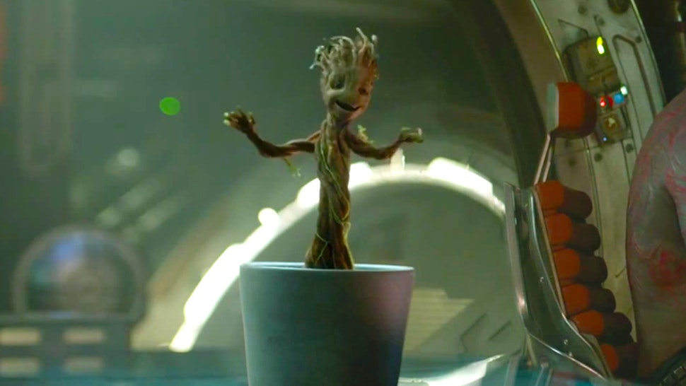 Guardians Of The Galaxy Baby Groot Origins Revealed The Design