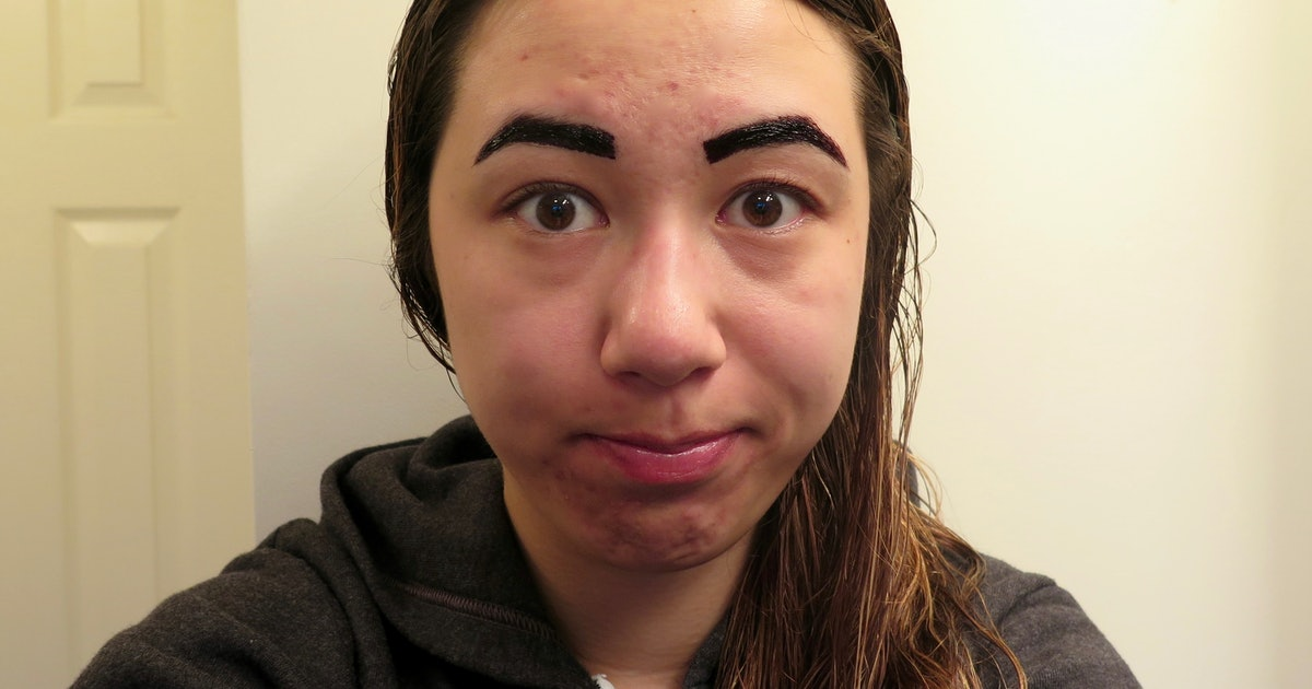 I Tried Peel Off Lip Eyebrow Tattoos This Is What Happened Photos