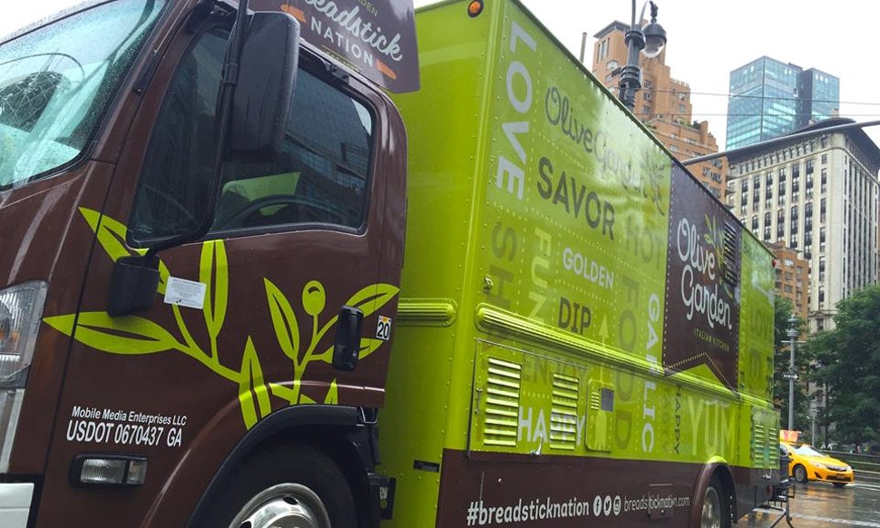 An Olive Garden Food Truck Exists, And These 10 Restaurant Chains ...