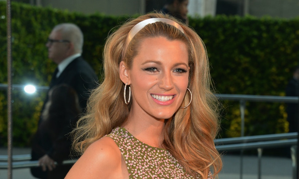 Blake Lively Says Her Hair Is A Safety Net And Shes Certainly Not
