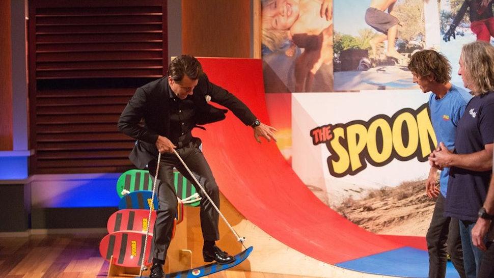 Spooner Boards From 'Shark Tank' Are Basically Training