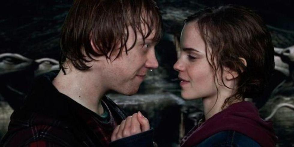 Harry Potter fanfiction Ron og Hermine dating