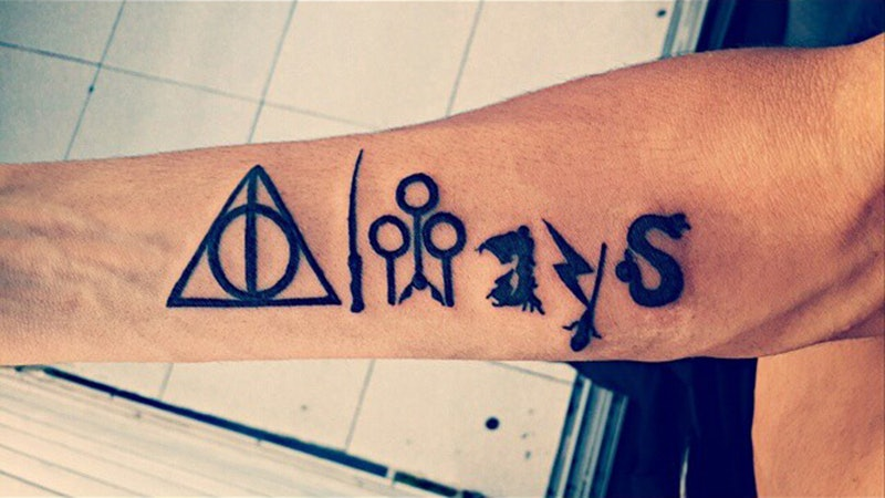21 Harry Potter Quote Tattoos Every Hogwarts Fan Needs On Their Bodies Now
