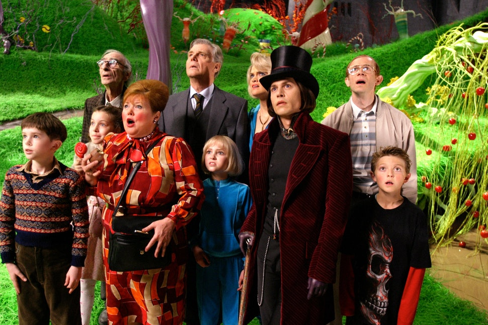 Image result for charlie and the chocolate factory movie