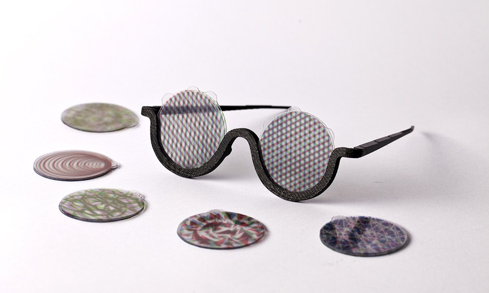 3-D Printed Sunglasses By Bence Agoston Were Designed To Create An ...