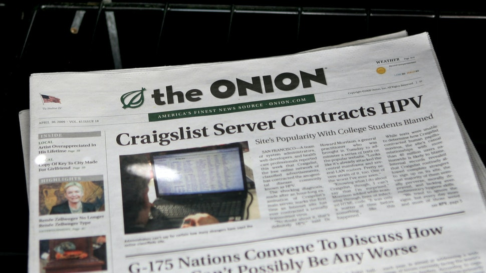 The Onion Or Real Try To Guess Which Headlines Are Satire And