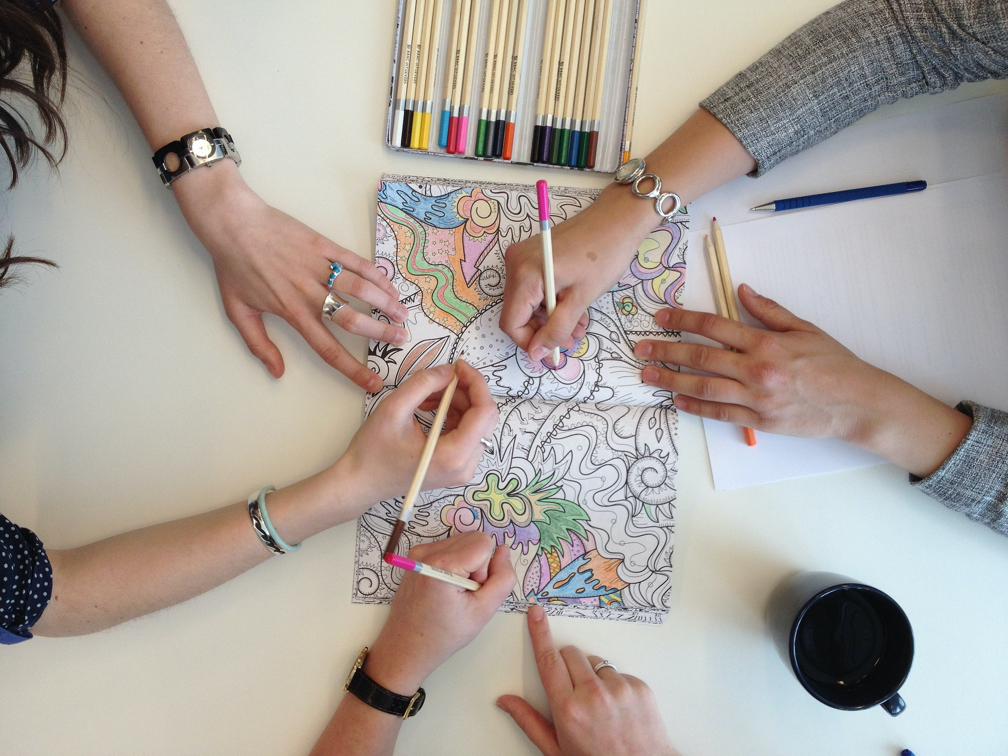 13 Of The Best Adult Coloring And Activity Books Because Big People Get Bored On Long Car Rides Too