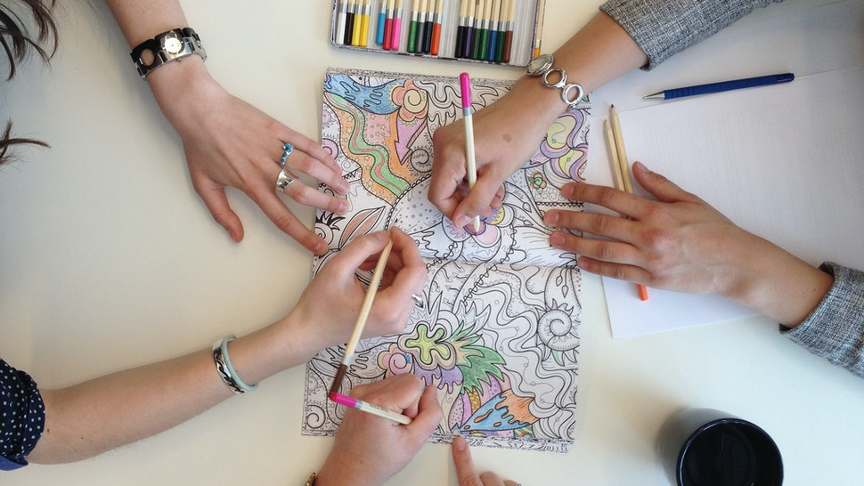 13 Of The Best Adult Coloring And Activity Books Because