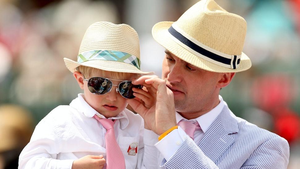 9894d2d8b9f Do Guys Wear Hats To The Kentucky Derby  They ve Got A Dress Code Too