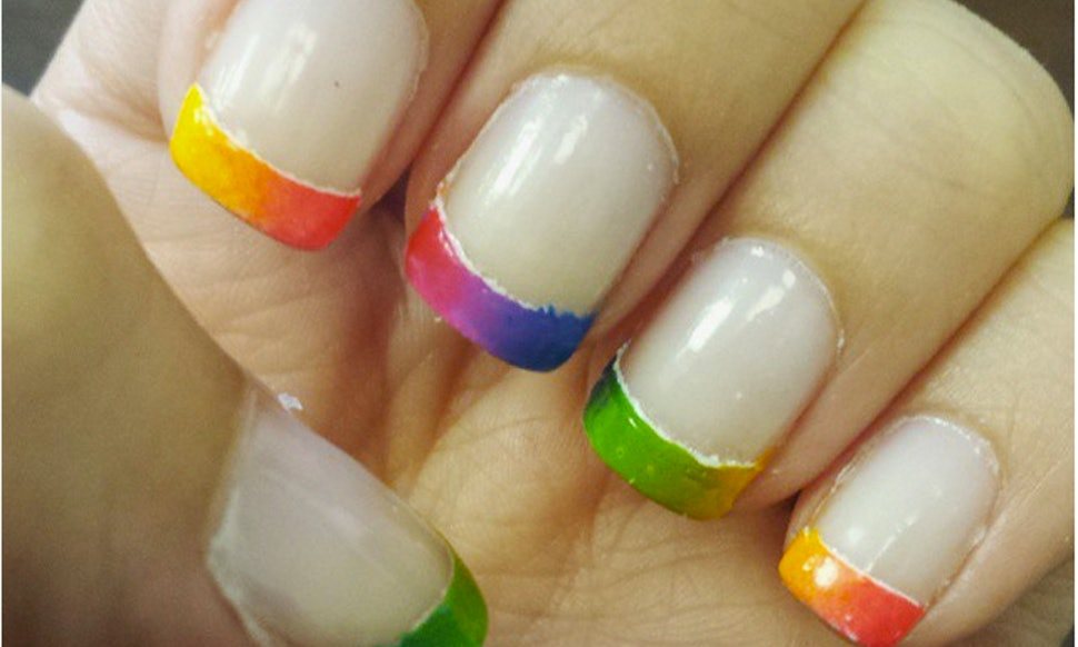 22 Rainbow Nail Designs To Celebrate Gay Marriage Ruling, Because ...
