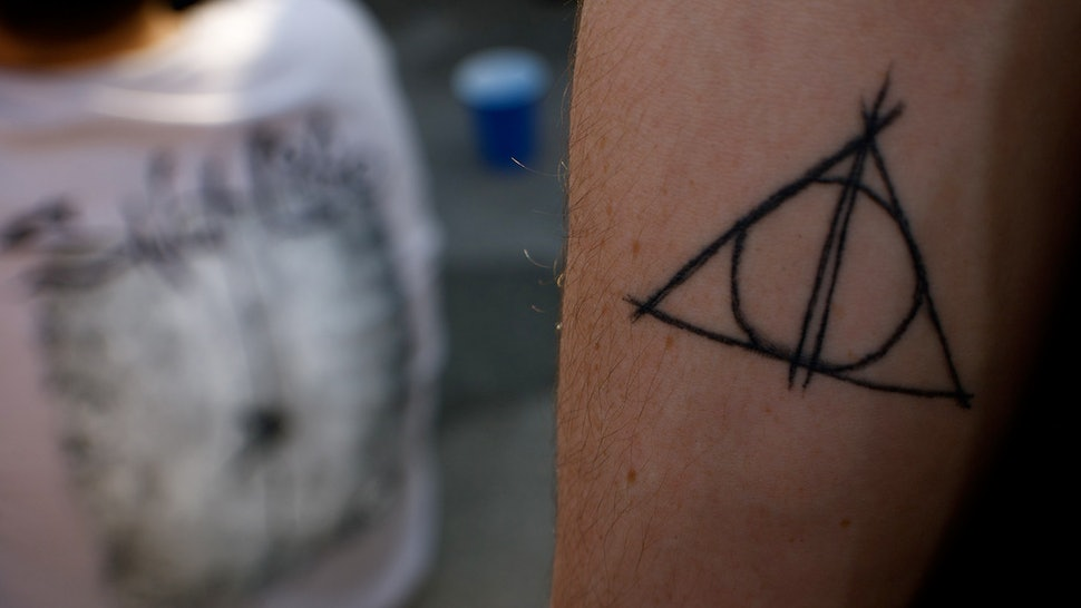 13 Subtle Harry Potter Tattoo Ideas To Show Off Your Love For The Series