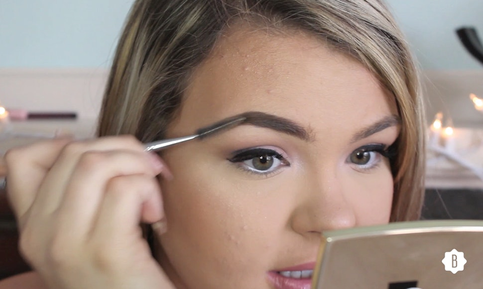 The Best Eyebrow Tutorial For Round Face Beauties Who Love The Bold