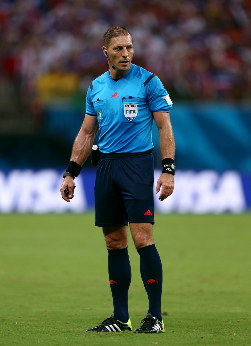 The Ed Hochuli Of Fifa Is Nestor Pitana A Guy With Muscles The Size Of Brazil