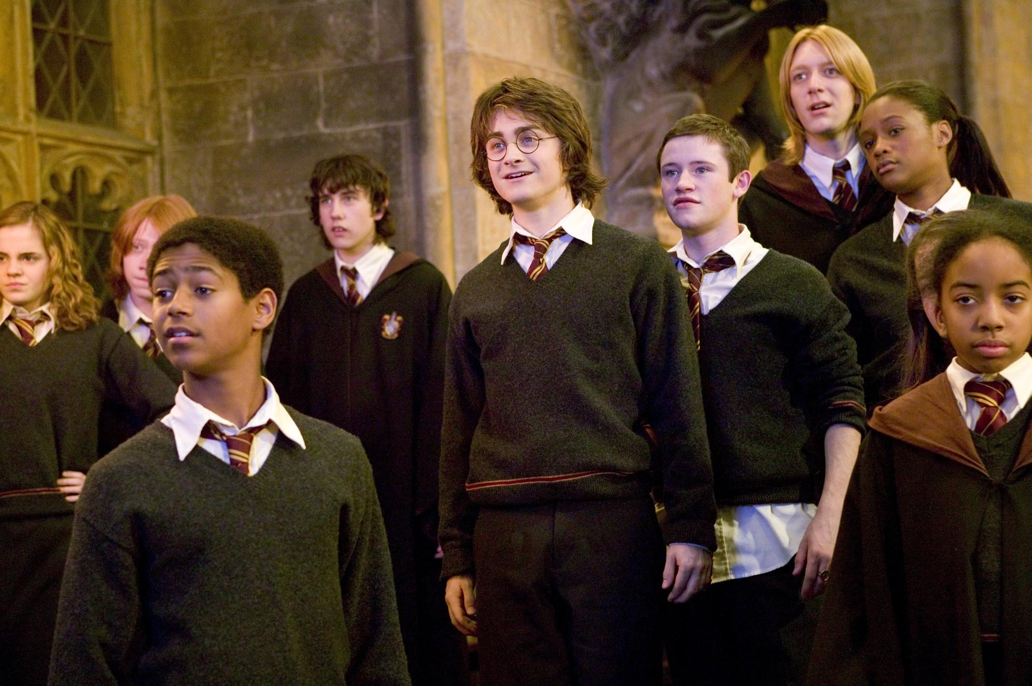 images Harry potter and the goblet of fire movie hype machine gears up