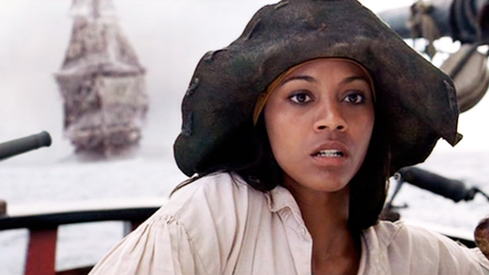 Pirates of the Caribbean' Made Zoe Saldana Want to Quit