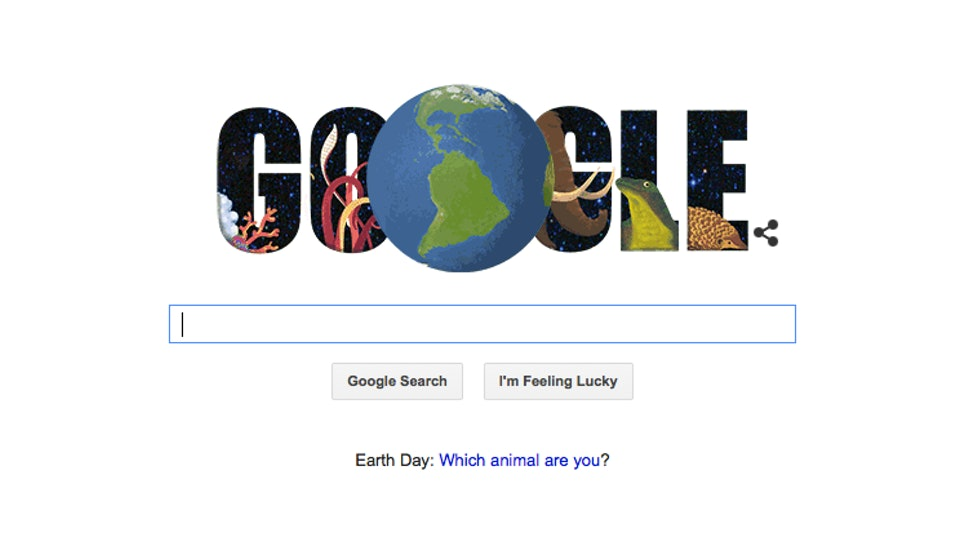 Taking Google's Earth Day
