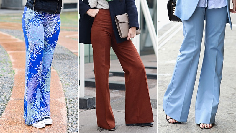 7 Shoes To Wear With Bell Bottoms, Because The \u002770s Are