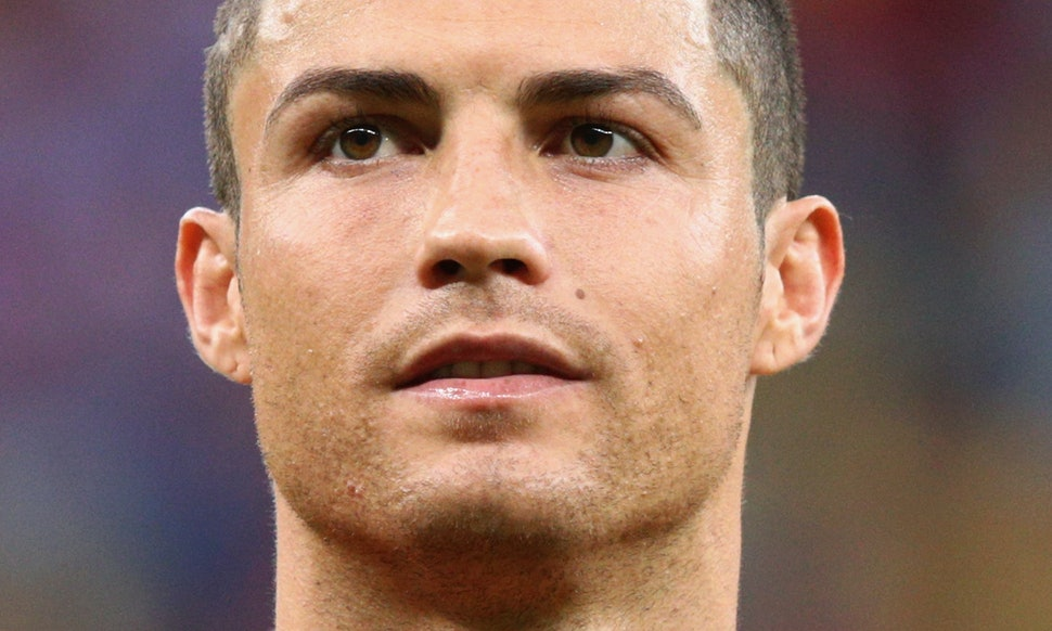 Cristiano Ronaldos Eyebrows How They Evolved Into The Most Perfect