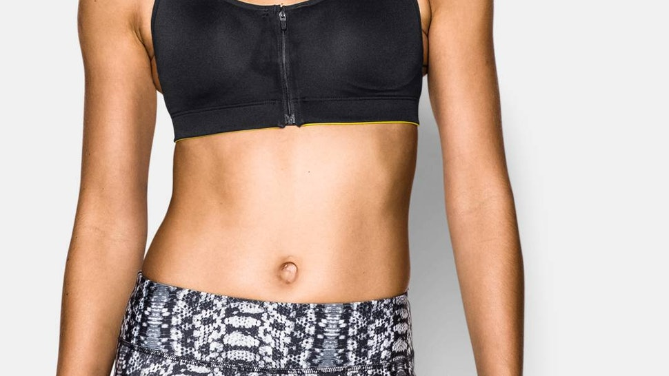 dee44633bbe9 13 Sports Bras That Zip Up If You re Looking For Support That s Cute ...