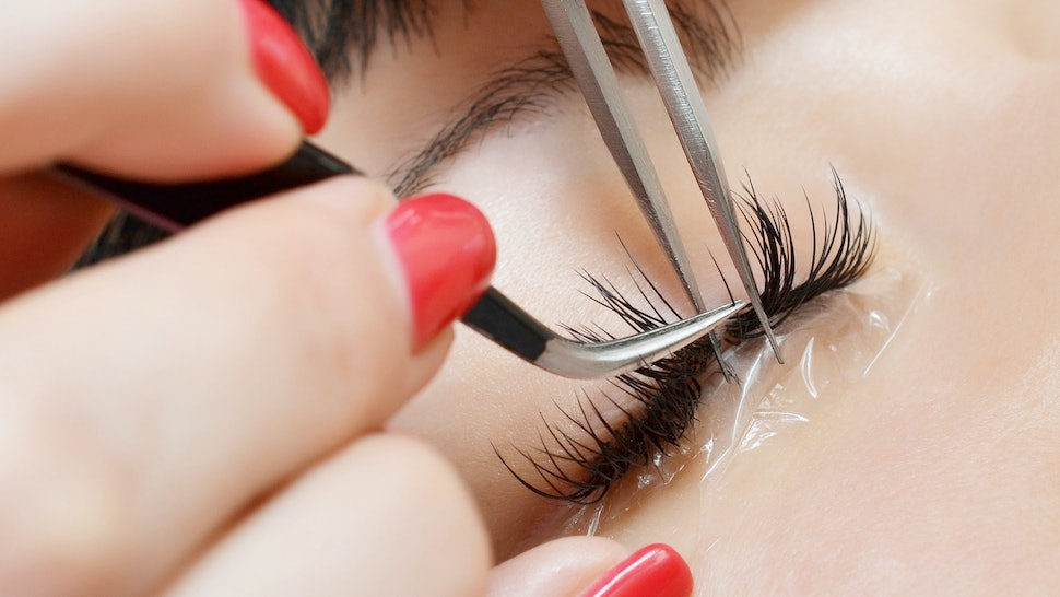 The 7 Emotional Stages Of Getting Eyelash Extensions Because Having