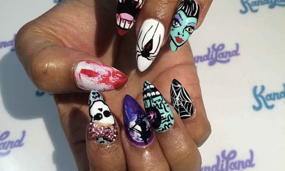 11 Alternative Nail Art Designs For Prom — Because There\'s More Out ...