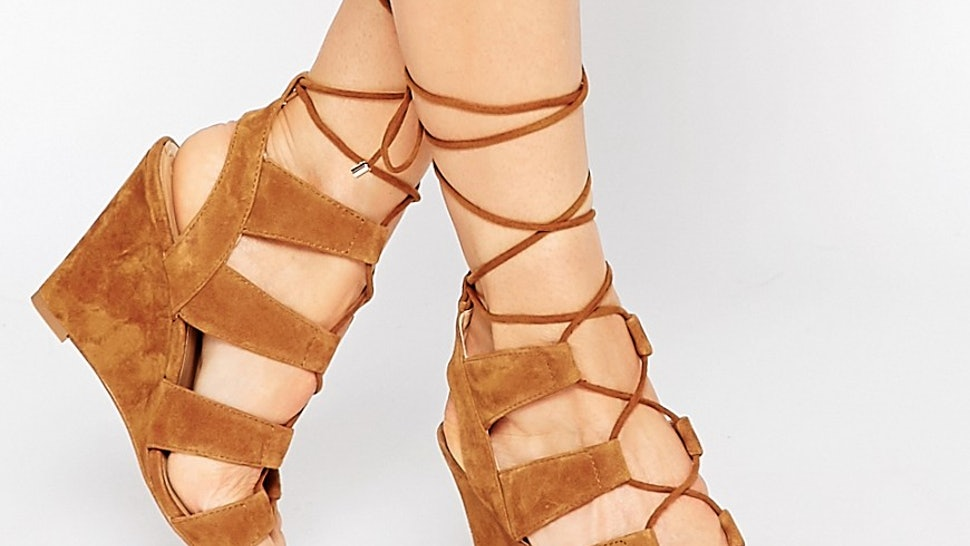 d7a3bcdf18 11 Gladiator Sandals To Channel Kendall Jenner All Spring   Summer Long —  PHOTOS