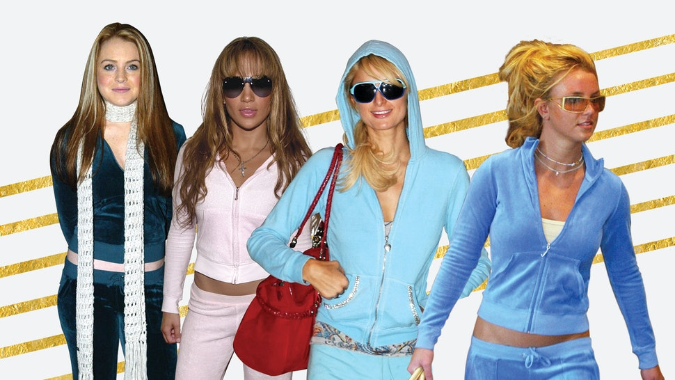 4517e4288971 How Juicy Couture Brought The Tracksuit Back For All Of Us