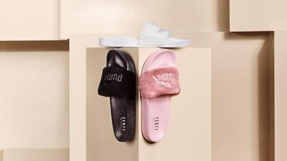online retailer 7d4f5 fe955 Where To Buy Rihanna's PUMA x FENTY Fur Slides When They ...