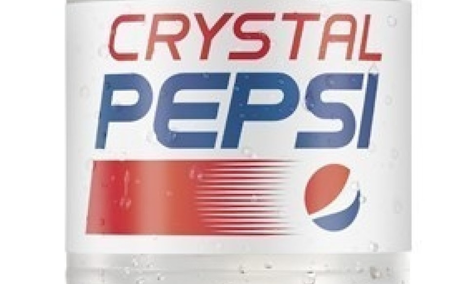 How Long Is Crystal Pepsi Available This 90s Treat Back For A Limited Time