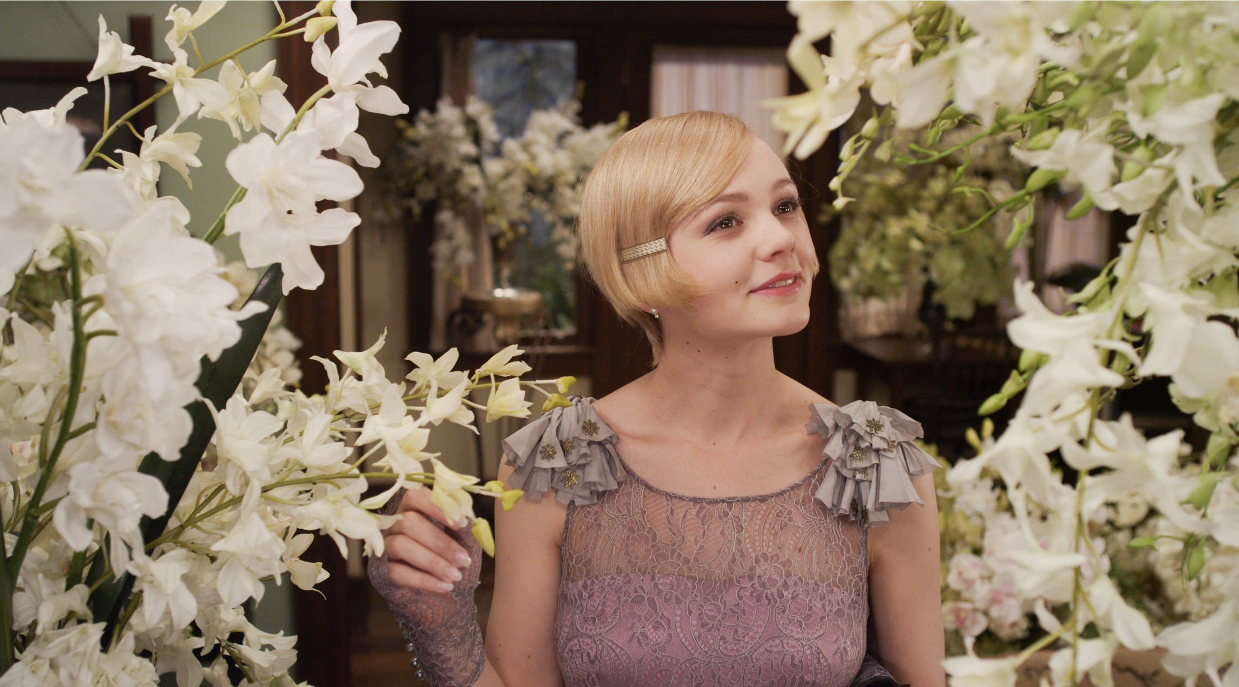 Gatsby Great daisy dress exclusive photo