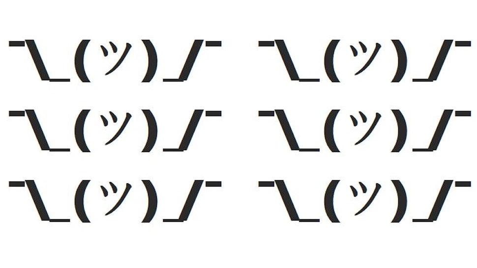 How Do You Type Shruggie, aka The Shrug Emoticon? Here Are 5 Ways To