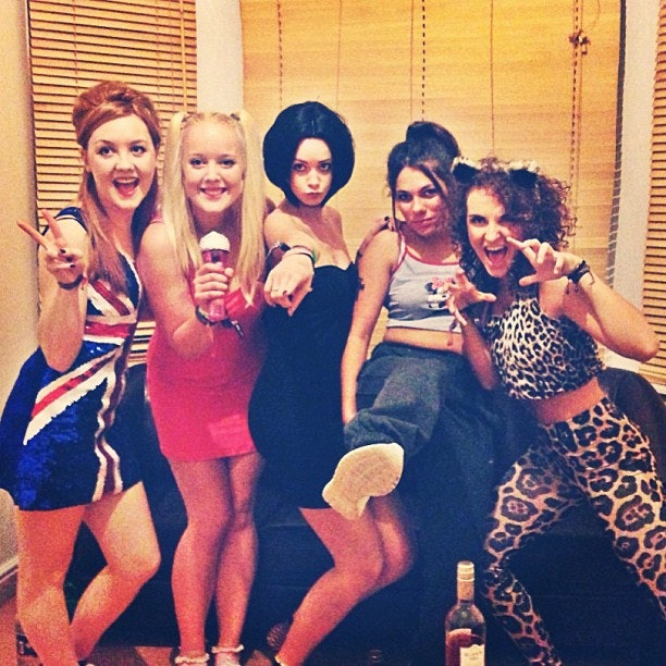 Sexy girl group costumes