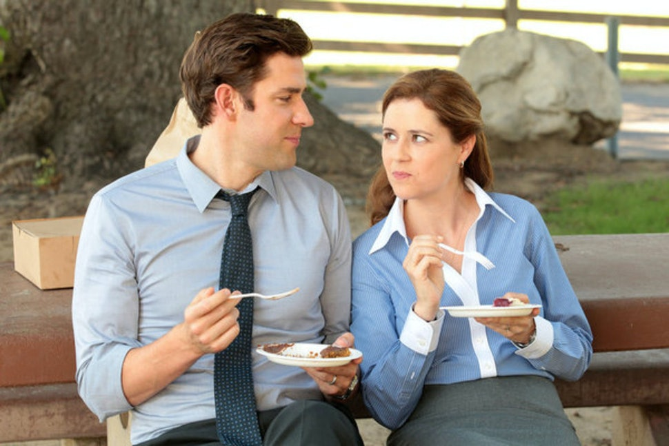Image result for jim and pam