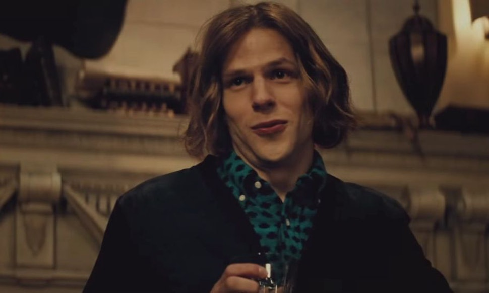 Is Jesse Eisenbergs Hair Real In Batman V Superman Lex Luthor