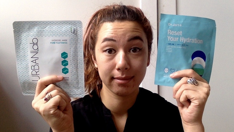 I Used Two Sheet Masks Every Day For A Week & This Is What