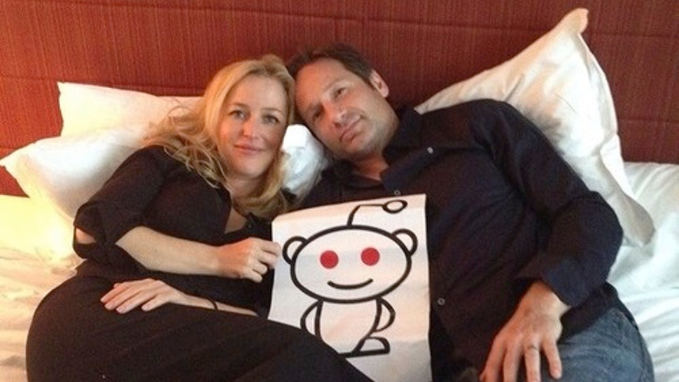 Gillian Anderson & David Duchovny's Reddit AMA was a Superfan's