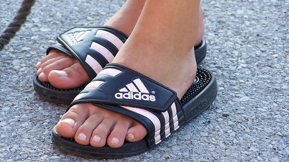d7373b399773 Remembering Spiky Adidas Flip Flops