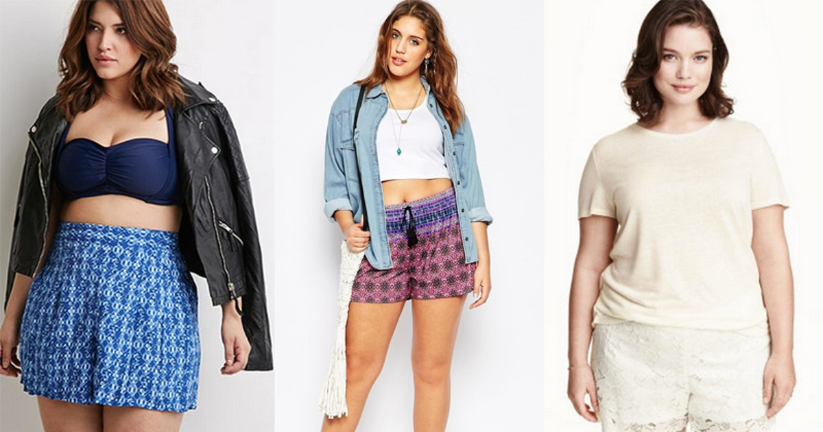 b5d62b071ba3 7 Places To Buy Plus Size Shorts For Summer That Are Both Cute & Comfy If  You're Sick Of Having To Wear Capris