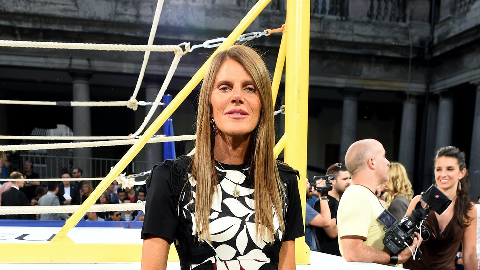 Anna Dello Russo Wore a Native American Headdress, Called It