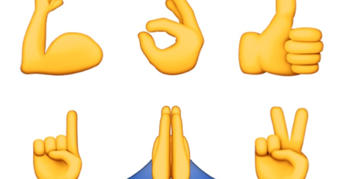 What Do All The Hand Emojis Mean? Or, How To Know When To ...
